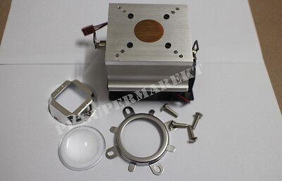 60-80°44mm Lens +Reflector Bracket+20-100W LED Aluminium Heat Sink Cooling Fan
