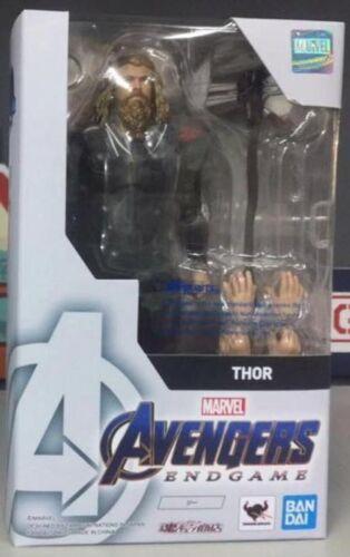 Marvel Avengers Endgame THOR Figure PREMIUM BANDAI PB S.H.Figuarts SHF