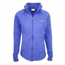 Columbia Women's Lapis Blue Basin Trail Full-Zip Fleece Jacket (Retail $55) 410