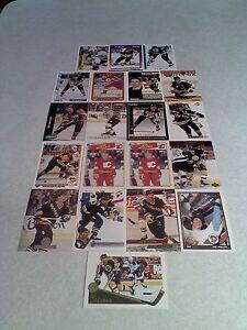 Joe-Mullen-Lot-of-75-cards-36-DIFFERENT-Hockey