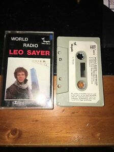 LEO-SAYER-WORLD-RADIO-Cassette-Tape