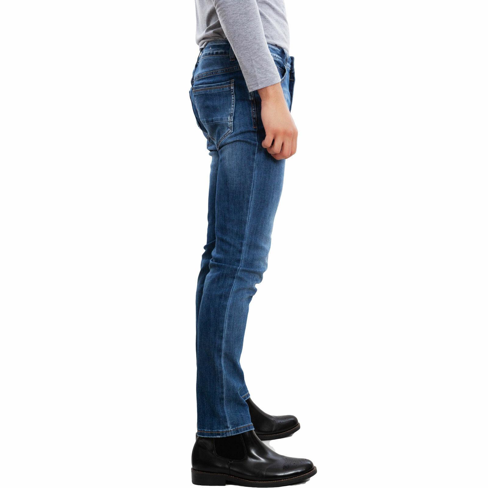 Herrenjeans Herrenjeans Herrenjeans Hose dichte slim fit denim TOOCOOL 5 Taschen casual MF341  | Spielen Sie auf der ganzen Welt und verhindern Sie, dass Ihre Kinder einsam sind  7d90fa