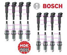 8 OEm BOSCH Ignition Coil Set +8 NGK Spark Plugs kit BMW 550i 650i 750i 750Li x5