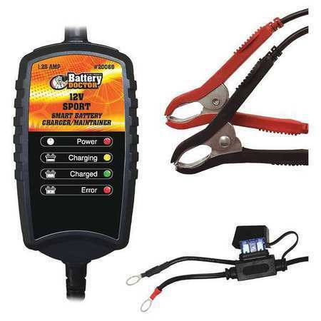 BATTERY DOCTOR 20069 Battery Charger//Maintainer,Auto,12V,CEC