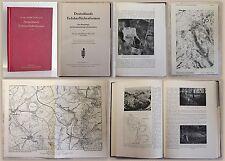 Müller Deutschlands Erdoberflächenformen 1941 Karthografie Vermessungskunde xz