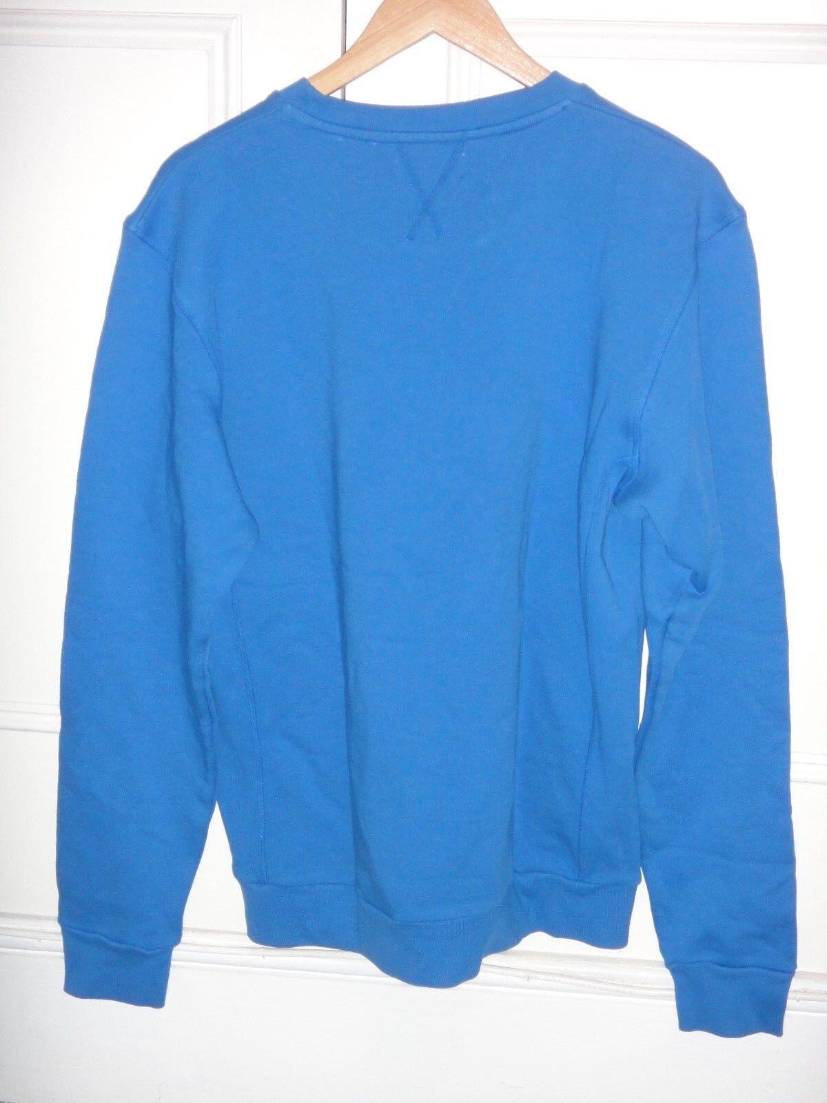 Royal blu WOLSEY Felpa Nuovo con etichette 100% COTONE GRANDE GRANDE GRANDE 7278bb