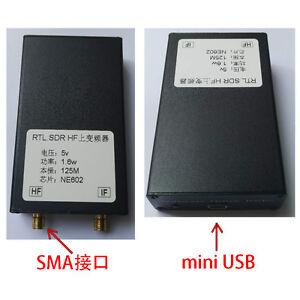 150K-30MHZ-HF-Upconverter-For-RTL2383U-SDR-Receiver-Aluminum-Case
