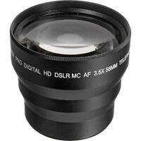 58mm 3.5x Telephoto Zoom Lens For Canon Eos Rebel 1100d 1200d 1300d T3 T5 T6 Sl1
