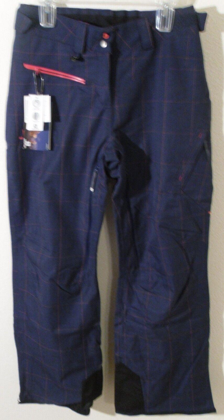 NWT Salomon Foresight Womens Snowboard Ski Pants XL Wizard purple MSRP