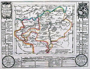 Antique-map-Die-Grafschaft-Namur