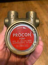 Used Procon Rotary Vane Brass Water Pump Nsf Component 114b165f11fx 022405