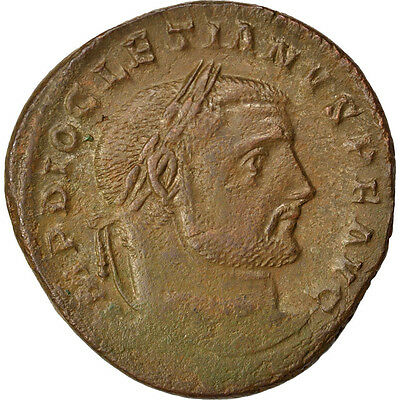 Diocletian Follis 8.50 Regular Tea Drinking Improves Your Health Copper Cohen #94 40-45 Ef #66770
