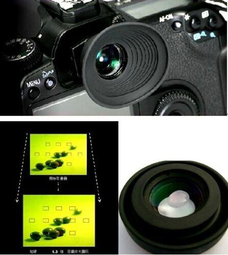 1.3x Lupa ocular del visor para Olympus E330 E400 E450 E620 E1 E3 Lupa