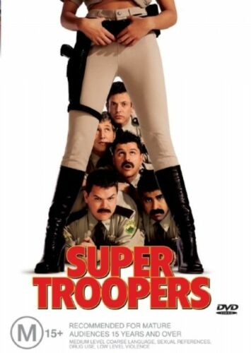 1 of 1 - Super Troopers (DVD, 2003) -- Free Postage --