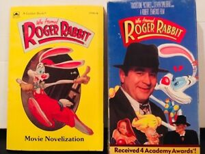 Who Framed Roger Rabbit 1988 Film Vhs And Movie Tie In Paperback Animation Ebay