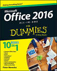 Office 2016 All-in-One For Dummies by Peter Weverka (Paperback, 2015)