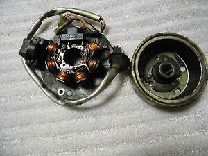 E-YAMAHA-MAXSTER-125-ALTERNADOR-ESTATOR-Rotor-Volante