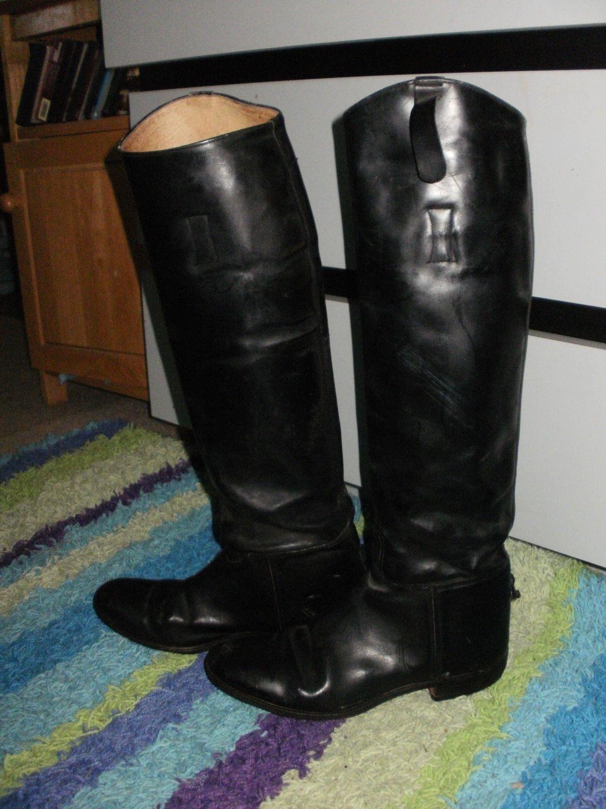 GRAND PRIX DRESS Stiefel LADIES US 7 13.5 CALF 18  TALL SIDESADDLE HUNT