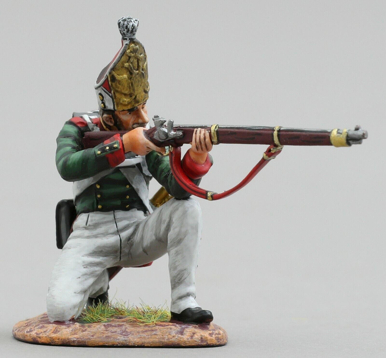 Thomas Gunn Napoleonic de Rusia Nap049 Pavlovski Granadero Rodilla Firin