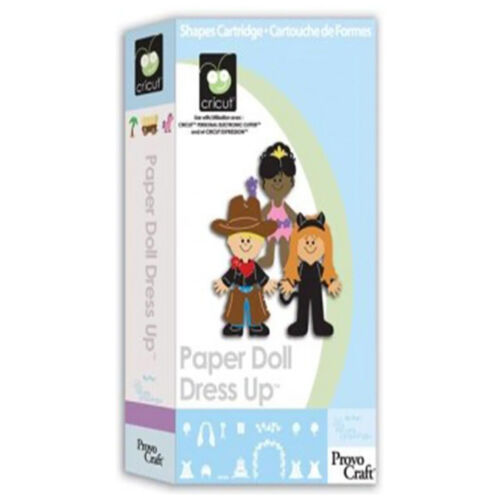 Paper Doll Dress Up Cricut Cartridge
