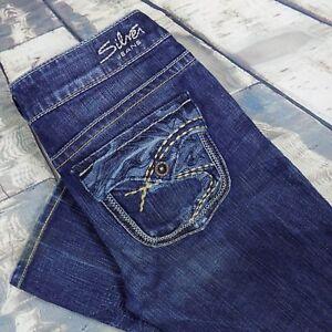 721771f3 Silver Jeans Size 28 Women's Pioneer Bootcut Sz 28/33 | eBay