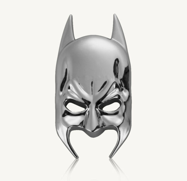 Mask Batman Chrome Auto Emblem