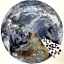 thumbnail 1 - Jigsaw Puzzle 1000 Piece The Earth  68 cm -Keep Busy for Days or Weeks !