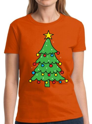 Christmas Tree Shirt Women/'s Holiday Top Xmas Tree Christmas Shirts for Women