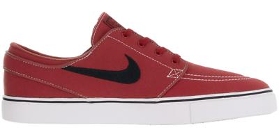 Luminosa Nike Sb Zoom Stefan Janoski Cnvs Skater Sneaker Scarpe Calzature Rosso 615957600