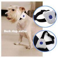 Ultrasonic Anti Bark Dog Training Collar Stop Bark Stop Control White Better F7