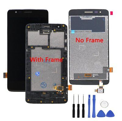 LCD Screen and Digitizer Full Assembly with Frame for LG K8 2017 X240 X240H Make Your Device Look More Refreshing Than Ever Touch Panel Replacement