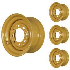 Set Of 4 8 Lug Case 450 Skid Steer Wheels 975x165 Fit 12x165 Tires