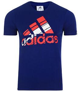 pour hommesbleu Performance NouveauTee shirt Logo Adidas marine dxeCrBQoW