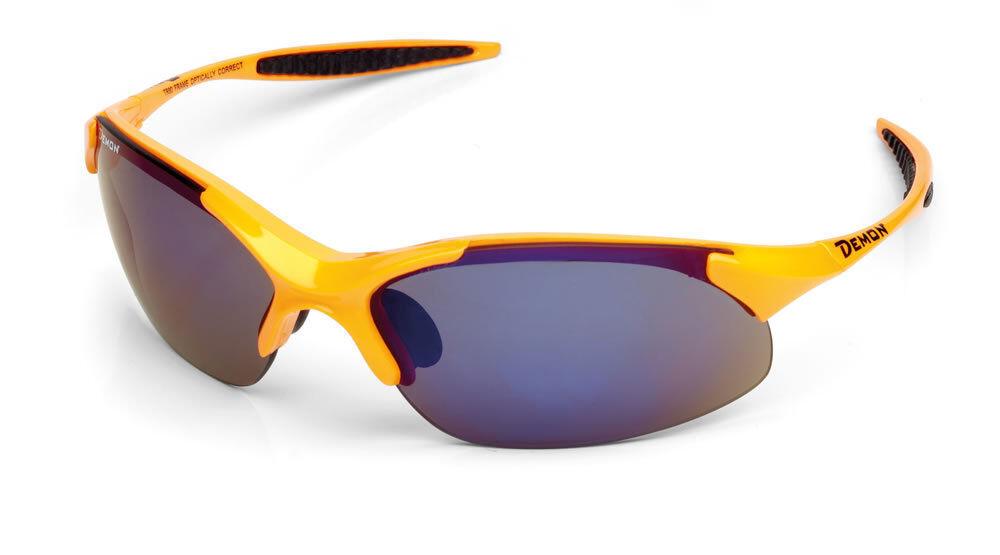 DEMON 832 inkl. Wechselgläser Neon orange Sportbrille Laufbrille auch orange