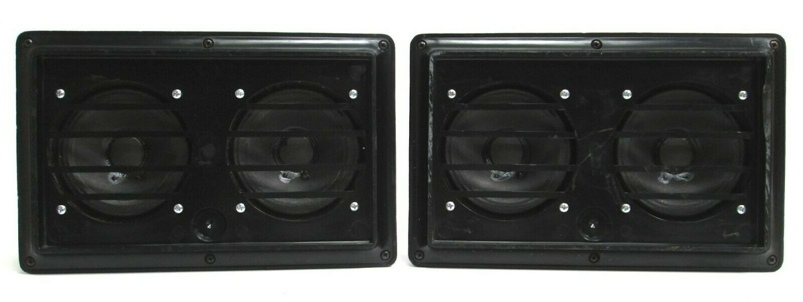 PAIR of Galaxy Audio HOT SPOT Personal Vocal Monitor Speakers - schwarz  4907