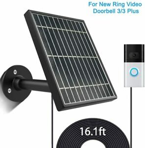Solar-Panel-for-Ring-Video-Doorbell-3-3-Plus-3-5W-Output-No-Include-Camera