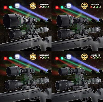 Avere Una Mente Inquisitrice Opticfire ® Xs 4 Led Luce Portata Mount Pistola Lampada Torcia Da Caccia Lamping Supreme Kit-mostra Il Titolo Originale Vendendo Bene In Tutto Il Mondo