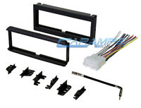 Car Stereo Radio Cd Player Dash Install Trim Bezel Kit With Wiring Harness on sale