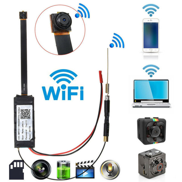 Mini DV Full 1080P HD Wireless IP DIY Spy Screw WIFI IP Camera DVR Module Cam