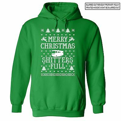 Sh*tters Full Ugly Christmas Vacation Sweater Funny Griswold Movie Sweatshirt