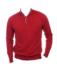 M Men Samtrot grey Balldiri Buttons Fädig 100 2 Cashmere Pullover ZxHqPRw17