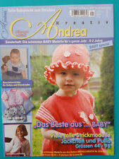 Andrea Kreativ Tolle Babymode zum Stricken Nr.03-02 Ausgabe 1/2017 ungelesen 1A