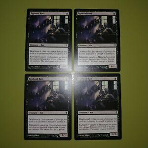 Typhoid-Rats-x4-Conspiracy-4x-Playset-Magic-the-Gathering-MTG
