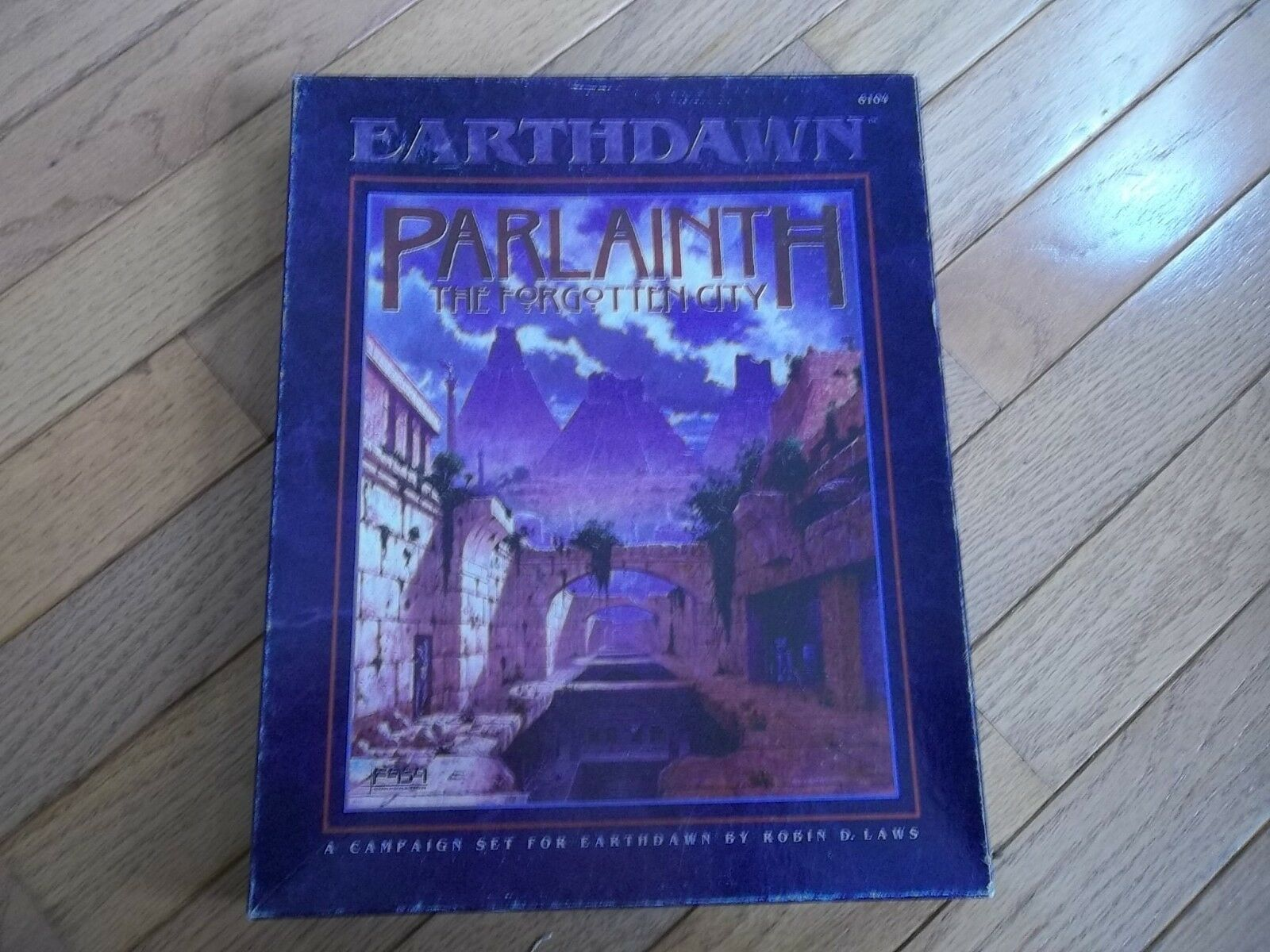 FASA Earthdawn Parlainth The Forgotten City unpunched
