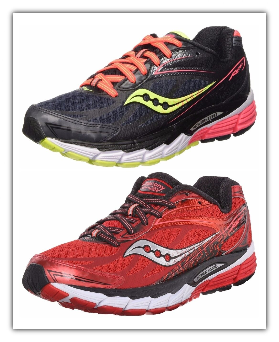 Saucony Ride 8 femmes  Running  Chaussures  Sneakers Neutral Runner  Chaussures  Extra Cushion