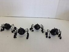 4 Halloween Prop Hanging tree Chandelier light Jingle Spider Decor Ornaments