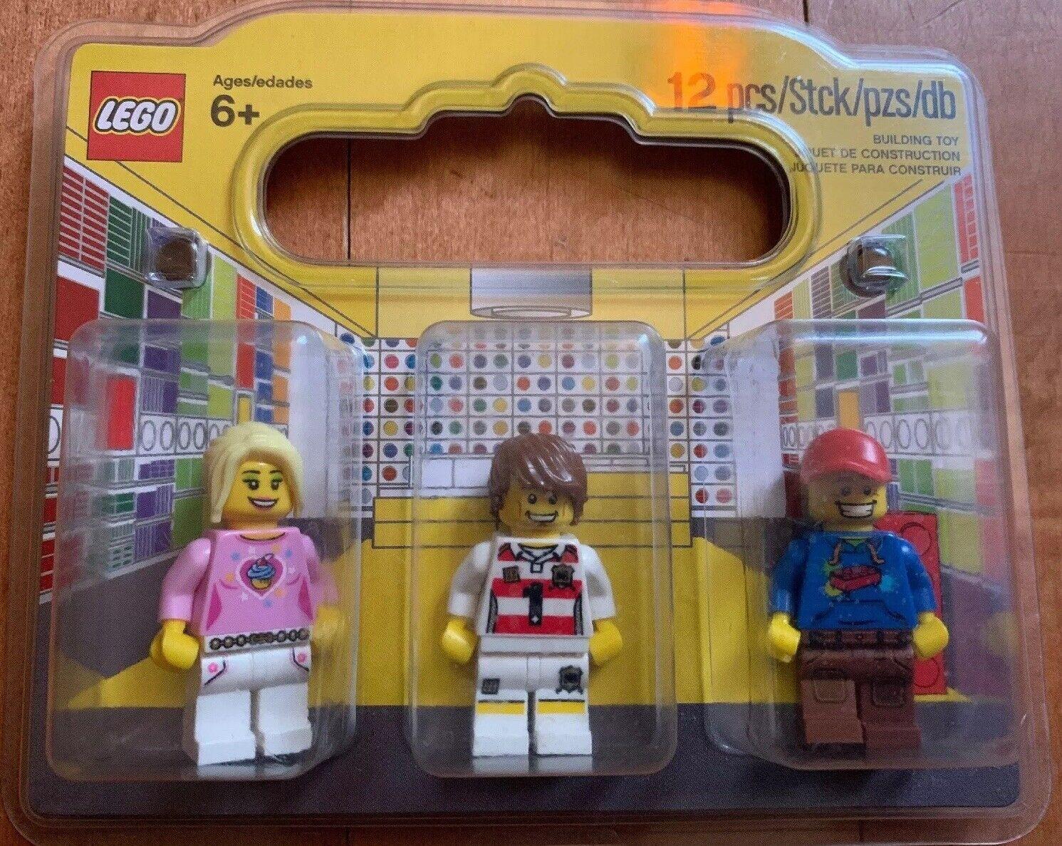 acquistare ora LEGO Gre Gre Gre Re-opening Collectible Minifigs nuovo Set Of 3 Minicifras Promotion  prodotti creativi