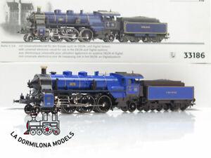 DR482-H0-AC-DIGITAL-MARKLIN-33186-Schnellzuglokomotive-3673-S-3-6-K-Bay-Sts-B