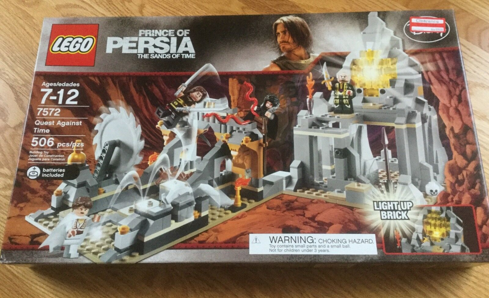 LEGO LEGO LEGO 7572 PRINCE OF PERSIA - QUEST AGAINST TIME - NEW - FACTORY SEALED    8aed0e