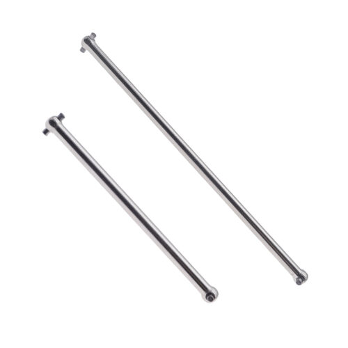 RCAWD For 1//7 Arrma Infraction Limitless Felony 6S BLX Dogbone Drive Shaft 2Pcs
